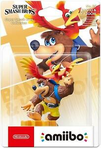 Banjo &  Kazooie Super Smash Bros - Amiibo Figure for Nintendo Switch Brand New