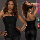 New Sexy Womens Padded Top Size 6 8 10 Hot Strapless Evening Party Blouse XS S M