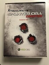 Tom Clancy's Splinter Cell: Conviction Starter Kit SEALED Xbox 360 Rare Press