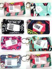 Vera Bradley Zip ID Case Coin Purse Mini Wallet Key Chain