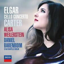 Alisa Weilerstein/BARENBOIM Elgar & Carter Cello Concerto CD 1st Class UK Post
