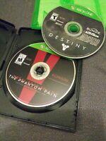 Metal Gear Solid V 5 The Phantom Pain XBOX ONE & Destiny No DLC Near Mint Discs