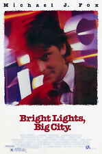 BRIGHT LIGHTS, BIG CITY (1988) ORIGINAL MOVIE POSTER  -  ROLLED