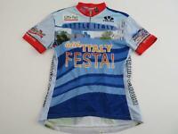 Voler Women's Little Italy Festa Cycling Bike Jersey Size Large XL Short Sleeve