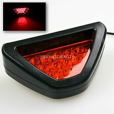 SPORT LOOK F1 STYLE DIFFUSER/BUMPER MOUNTING 3RD BRAKE LIGHT ADD-ON 12 RED LED