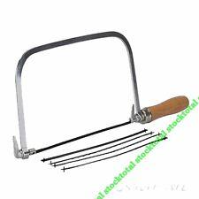 Arco sierra de marquetería + 5 hojas Arco resistente.Para cortar sw45 to -