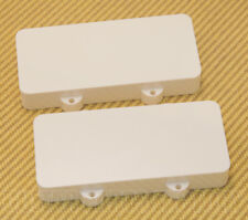 PCJZWNH White Pickup Cover Set for Fender Jazzmaster® No Pole Piece Holes
