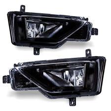 For 17-18 Volkswagen Golf Alltrack Clear Lens CHrome Housing Fog Lights Lamps