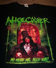 ALICE COOPER No More Mr Nice Guy 2014 TOUR T-Shirt 2XL XXL NEW