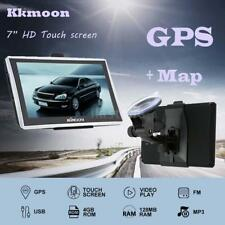 "7"" HD Touch Portable Truck Car GPS Navigator Navigation SAT NVA with Free Maps"