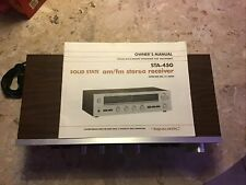 Realistic Solid State STA-450 AM/FM Vintage Stereo Receiver 31-2094