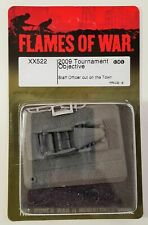 Flames of War 2009 tournament objective staff officer on the town Battlefront
