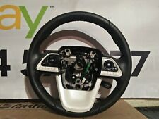 2016 TOYOTA PRIUS Multifunctional Black Leather Steering Wheel 4510047240C0