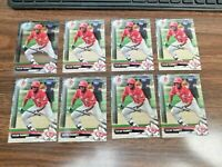TAYLOR TRAMMELL 2017 BOWMAN CARD BD-166 REDS/SAN DIEGO PADRES(8-CARD ROOKIE LOT)