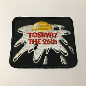 Tour Of The Scioto River Valley TOSRV Collectible Iron On Patch OH Vintage 1987