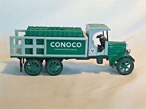 ERTL Kenworth 1:34 Scale 1925 Green Conoco Truck Die Cast Metal Coin Bank