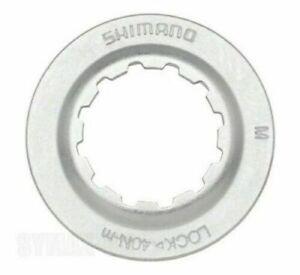 50 STÜCK SHIMANO Lockring silber Verschlussring Centerlockring 1 Beutel NEU