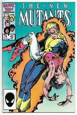 The New Mutants #42 (Marvel, 1986) – Icarus, Cannonball, Dazzler, 1st Aero – NM