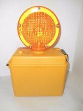 Flashing Caution Safety Light Empco Lite Barricade Construction Dual Lens New
