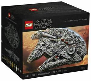 Used Star Wars Millennium Falcon (75192) - 7541 Pieces LEGO Building bricks