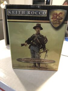 Signed Edition Conté Keith Rocco Federal Infantry Bugler With Bonus Zouave