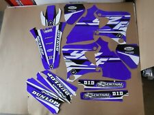 FLU PTS4 GRAPHICS YAMAHA YZ250F YZ400F YZ426F 1998 1999 2000 2001 2002