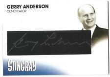 Stingray Gerry Anderson Cut Auto Card GA12 Gerry Anderson Co-creator Stingray
