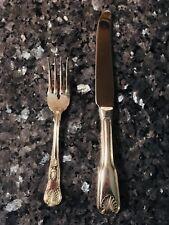 Onieda KINGS 18/10 Silverplate LoT Fork Knife Lovely Seashell Similar~Wallace