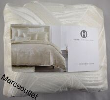 Hotel Collection Alabastar KING Duvet Cover Ivory