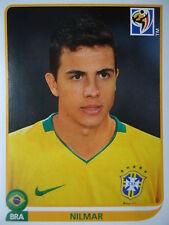 Panini 502 nilmar brasil fifa wm 2010 Sudáfrica