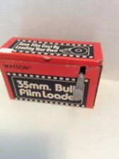 Watson Model 100 35mm Bulk Film Loader Color Or Black And White