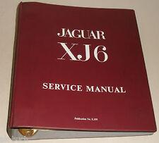 Werkstatthandbuch Service Manual Jaguar XJ6 Serie I als 2,8 / 4,2 liter, ab 1968