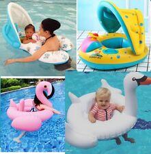Niños Bebé Inflable Bote Balsa Asiento Flotador Anillo de Natación Piscina Juguete