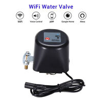 Smart WiFi Water Valve Shutoff Home Sensor Google Assistant Automatic Monitor