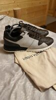 Mens Authentic Louis Vuitton Run Away Monogram Sneakers Sz 9 LV