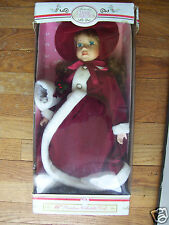 """Memories Classic Collection 16"""" Porcelain Collectible Doll Mint In Box"""