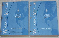 2010 Lincoln MKT Factory Service Manual - Original Shop Repair 2 Volume Set