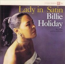 Billie Holiday - Lady in Satin [New CD]
