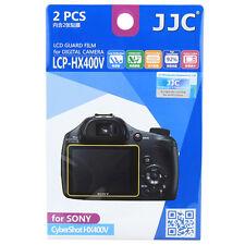 JJC LCPHX400V LCD Camera Screen Display Protector for SONY CyberShot HX400V 300V