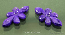 Natural Untreated Sugilite Gemstone Carving Pair Unbehandelt Sugilith Edelstein