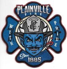 """Plainville  Fire Dept., Connecticut  'With Pride"""" (4.25"""" x 4.25"""") fire patch"""