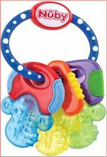 NUBY Icy Ice Morsure clefs dentition, Multi, Bleu ou Rose * Brand New * * Fast &...