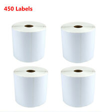 4 Rolls 450/Roll 4X6 Thermal Mailing Shipping Labels for Zebra ZP500 ZP505