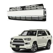Grille Fit For Toyota 4Runner Limited 2014-2020 Front Bumper Chrome Moulding