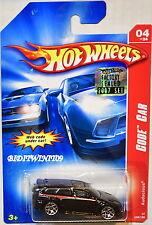 HOT WHEELS 2007 CODE CAR AUDACIOUS #04/24 BLACK FACTORY SEALED