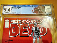 THE WALKING DEAD #48 - CGC 9.4 - WHITE PAGES - DEATH OF THE GOVERNOR and LORI !