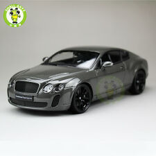 1:18 Scale 1:18 Scale Bentley Continental GT Diecast Car Model Welly18038 Gray