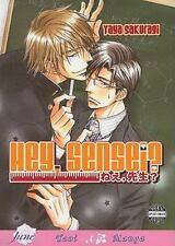 Hey Sensei by Yaya Sakuragi | English, June Manga, BL/Yaoi, NEW