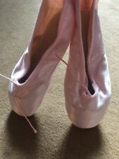 block ballet shoes E Porselli Milano Made In Italy Size 15 New