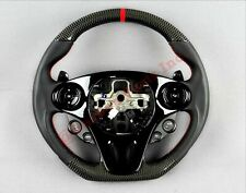 Mercedes Smart Brabus Style Carbon Fiber Steering Wheel Shift Pedals Leather